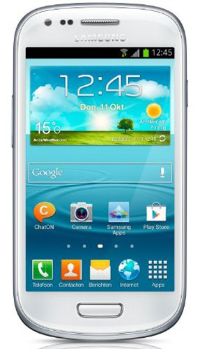 Samsung Galaxy S III 3 mini 8GB i8190 HSPDA 900/1900/2100 FACTORY UNLOCKED Marble White INTERNATIONAL VERSION, Best Gadgets
