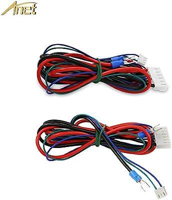 Anet - Cable calefactor para impresora 3D Mendel RepRap i3 Anet ...