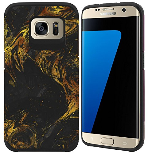 Shockproof Armor Case for Samsung Galaxy S7 Edge (Crystal/Aqua) - 2