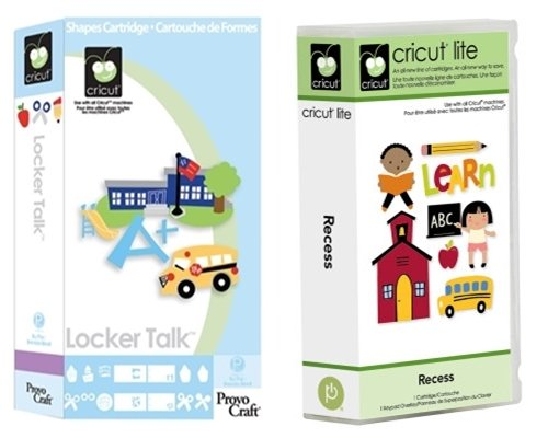 Cricut Cartridge: Bundled Recess & Locker Talk