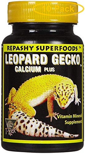 T-Rex Leopard Gecko Calcium Plus Superfood 1.75 oz - Pack of 10