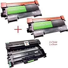 3PK ShopCartridges ® (TN450x2+DR420) New Compatible Combo Set DR420+2XTN450 (TN-420) (Toner+ Drum Unit) for Brother DCP-7060D,DCP-7065DN,HL-2240,HL-2270DW,HL-2220,HL-2230,HL-2280DW,HL-2130,HL-2132,HL-2240D,HL-2242D,HL-2250DN,IntelliFax-2840,MFC-7460DN,MFC-7860DW,MFC-7360N,MFC-7240