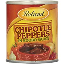 Roland Chipotle Peppers in Adobo Sauce, 7 Ounce (Pack of 12)