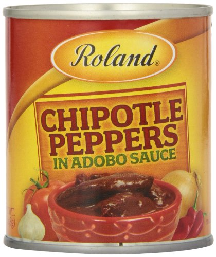 Roland Chipotle Peppers in Adobo Sauce, 7 Ounce (Pack of 12) - Chipotle Chiles In Adobo