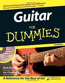 guitar for dummies, with dvd mark phillips, jon chappellguitar for dummies