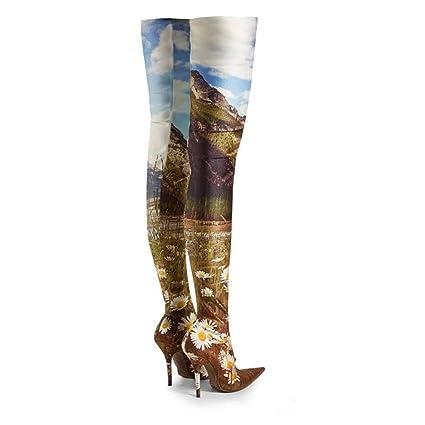 baf946263d77c Amazon.com: YaXuan Women's Fashion Boots,2019 Fashion Runway ...