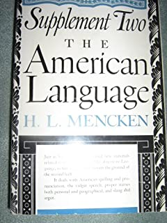 I'm doing an essay about the american language?