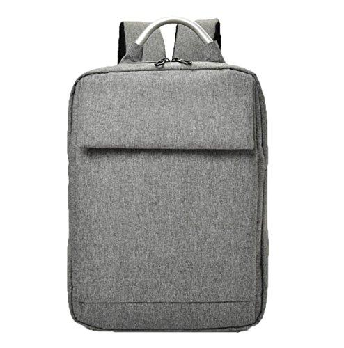 Los Hombres Ocasionales Del Bolso De Hombro De La Computadora De La Manera Backpack Grey