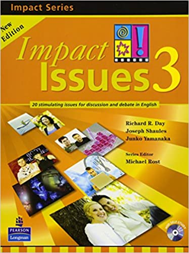 amazon impact issues 2e level 3 student book with cd richard r