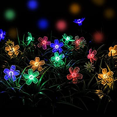 Loende 50 Led Flower String Lights