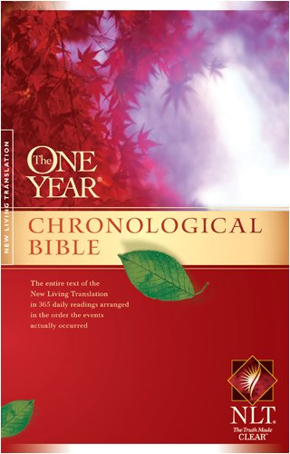 Download The One Year Chronological Bible NLT (One Year Bible: Nlt) ebook