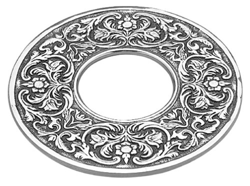 (Wilton Armetale William and Mary Trivet, Round, 7-1/2-Inch)