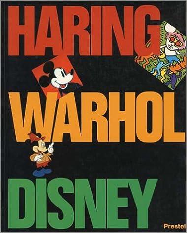 Keith Haring and Walt Disney Andy Warhol