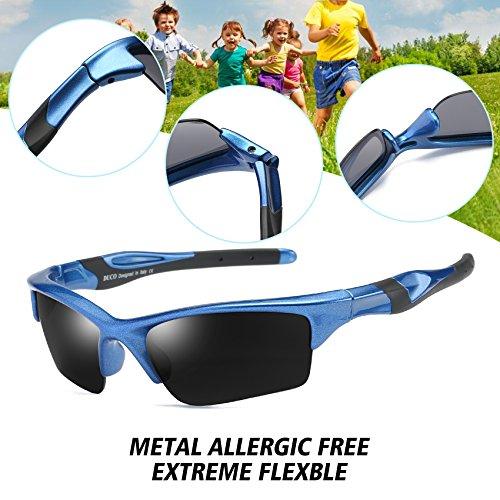 Polarisées Lunettes Enfants Anti Pour Duco Spécial Bleu Soleil Uv400 Sport De K014 UB6ngtwq