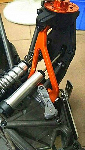Aluminum Alloy Front Upper Suspension Arm for TRAXXAS 1//7 UDR Unlimited Desert Racer Silver
