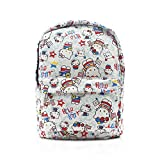 Best EcoCity Backpack For Hikings - Finex White Hello Kitty Canvas Backpack with Laptop Review