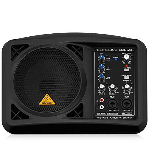 Behringer Eurolive B205D Ultra-Compact 150-Watt PA/Monitor Speaker System best to buy