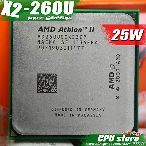 AMD Athlon II X2 260U AD260USCK23GM (1.8GHz/ AM3/ 938-pin /25W/Dual-Core/ 2M Cache) Desktop CPU (Working 100%
