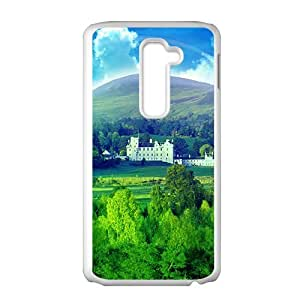 fresh forest blue sky beauty scenery personalized creative custom protective phone case for LG G2 by runtopwellby Maris's Diary