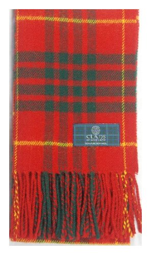 Scottish Cameron Clan Modern Tartan Clan Scarf Gift