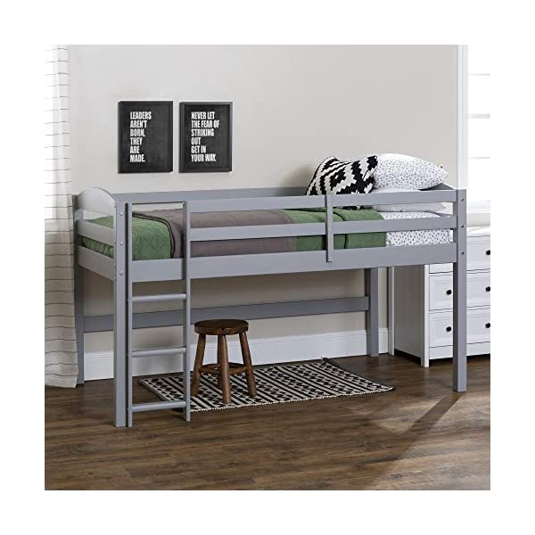 WE Furniture AZWSTOLLGY Loft Bed 1