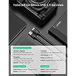 UGREEN-Cavo-Hard-Disk-Cavo-Micro-B-a-USB-30-A-5Gbps-per-Disco-Rigido-Esterno-di-Toshiba-Western-Digital-Seagate-Samsung-Hitachi-Samsung-S5Note-3-Nero-1M