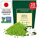 Vanilla + Matcha Green Tea Powder - Brew Delicious Vanilla Matcha Latte |