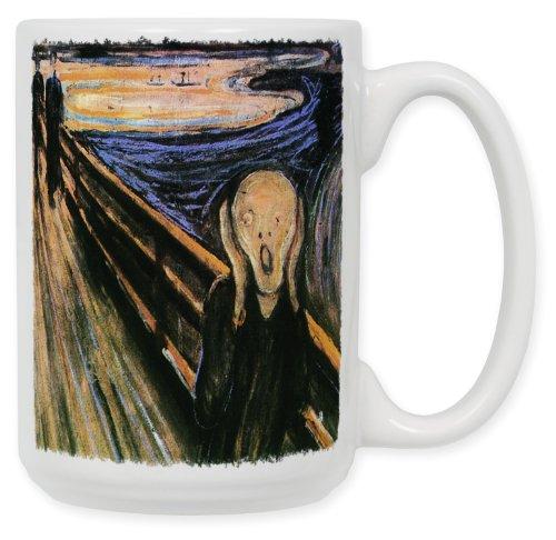 Munch: The Scream 15 Oz. Ceramic Coffee Mug