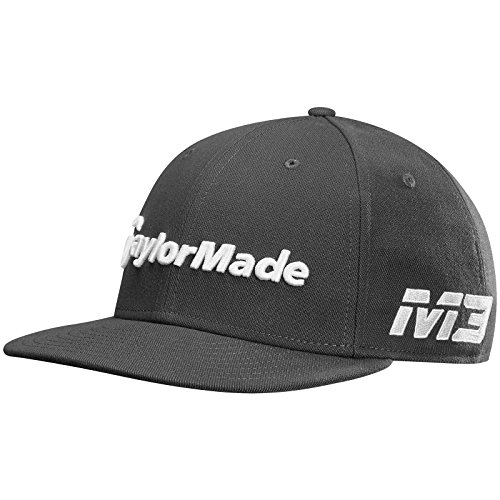 (One Size, Charcoal) - TaylorMade 2018 New Era Tour 9Fifty Hat Adjustable Mens Snapback Golf Cap