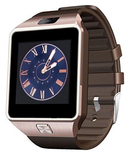 Bybest z-01 DZ09 Bluetooth Smart Watch with Camera for Samsung S5/Note 2/3/4, Nexus 6, HTC, Sony - Gold