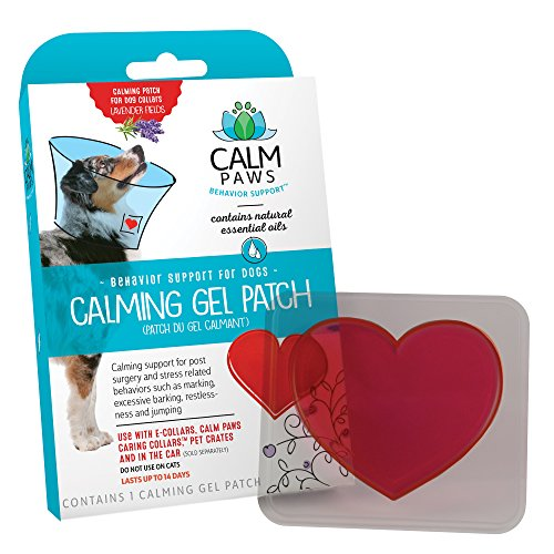 Calm Paws 27875 Calming Gel Patch Dog (Paw Gel)