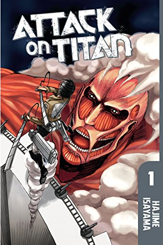 Attack on Titan Vol. 1 cover