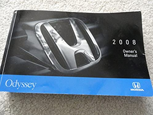 2008 honda odyssey owners manual honda amazon com books rh amazon com 2008 honda odyssey touring owners manual 2008 honda odyssey owners manual pdf download