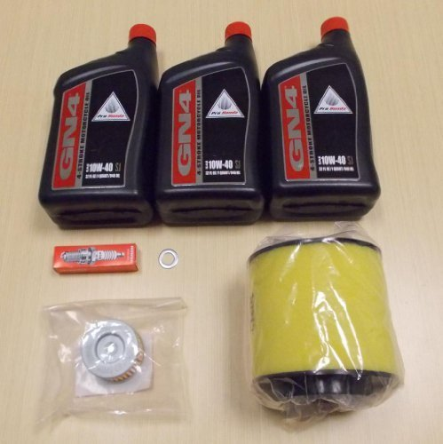 TRX 350 TRX350 Rancher ATV Complete Oil Service Tune-Up Kit ()