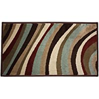 Fashion Contemporary Non-Skid Woven Area Rug, 23x36, Perfect for Living Room, Kitchen, Bed Room, Loft, Office and more-Do Wop Daisy
