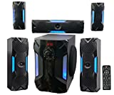Rockville HTS56 1000w 5.1 Channel Home Theater System/Bluetooth/USB+8'' Subwoofer