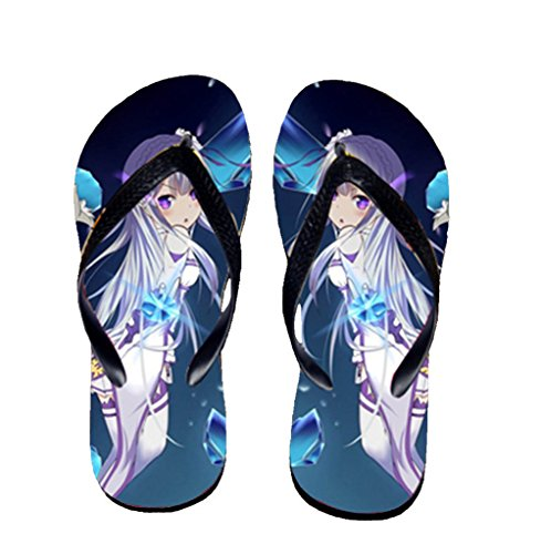 Bromeo Life in a different world from zero Anime Unisex Flip Flops Chanclas 801