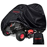 Eventronic Riding Lawn Mower Cover, Riding Lawn Tractor Cover 210D Waterproof Heavy Duty Durable (L71 xW47 xH43)