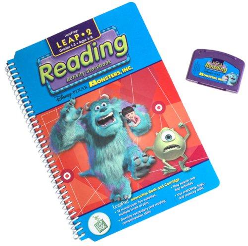 LeapPad: Leap 2 Reading - ''Disney / Pixar Monsters Inc.'' Interactive Book and Cartridge