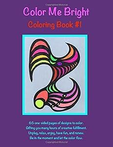 Color Me Bright Coloring Book #1