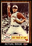 1962 Topps # 233 1961 World Series - Game #2 - Jay Ties It Up Joey Jay New York / Cincinnati Yankees / Reds (Baseball Card) Dean's Cards 4 - VG/EX Yankees / Reds