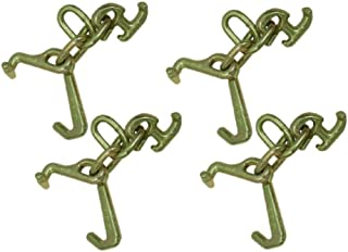 product image for Safe 'n Secure Four Clusters Forged R T J Hooks 5400 lbs Working Load Limit for Car Hauling (4)