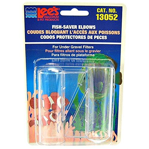 - Lee's Pet Products ALE13052 2-Pack Undergravel Elbow for Aquarium Filter, 1-Inch