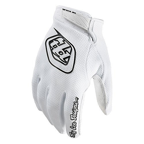 2017 Troy Lee Designs Air Gloves-White-2XL by Troy Lee Designs