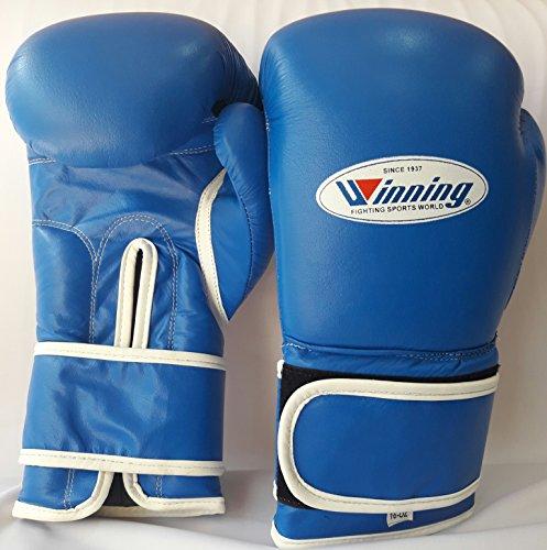 WINNEN BOKSHANDSCHOENEN professional wininng cow hide leather boxing gloves in 8/oz to 16/oz Grant Rays mayu Thai kick boxing