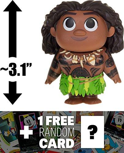 "Maui: ~3.1"" Funko Mystery Minis x Disney Moana Mini Vinyl Fi"