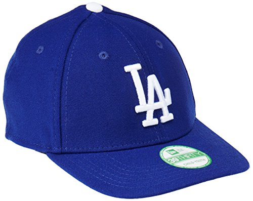 (New Era MLB Los Angeles Dodgers Junior Team Classic Game 39Thirty Stretch Fit Cap, Blue, Toddler/Child)