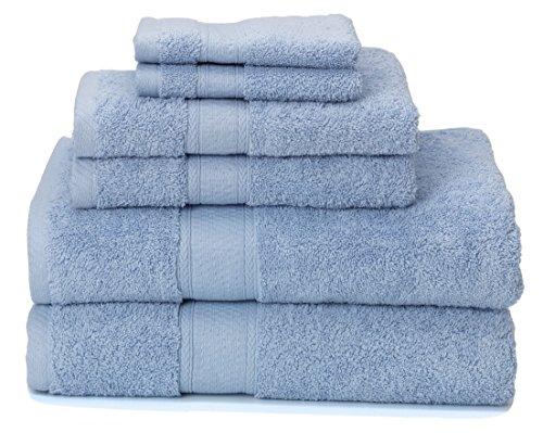 700 GSM Premium Bath Towels Set of 6  - 100% Cotton, Super S