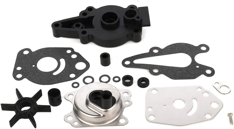 FEIPARTS Water Pump Impeller Kit Fits for Mariner Mercury for ce 6-15 HP Outboard Compatible with Part-numbers: 46-42089A5 47-42038-2 47-420382