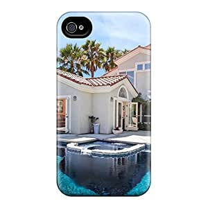 For Iphone 6 Premium Cases Covers Cool Pool In A Beautiful Backyard Protective Cases